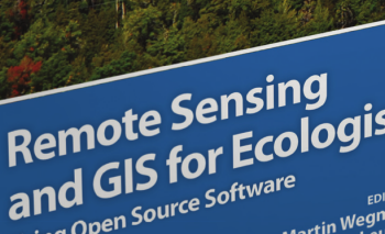 """Remote Sensing and GIS for Ecologists – Using Open Source software"" book"