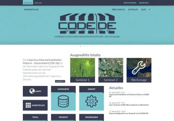 CODE-DE – Sentinel data free of charge for everyone