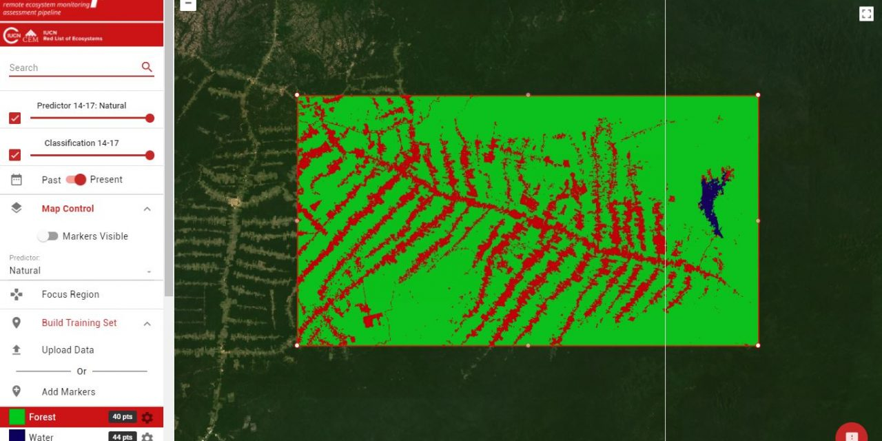 Remap – an online remote sensing app for making maps of ecosystems & landcover