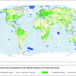 Land productivity dynamics in and around protected areas globally